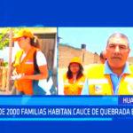 Más de 2000 familias habitan cauce de quebrada El León