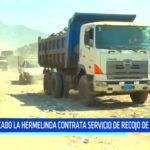 Mercado La Hermelinda contrata servicio de recojo de basura