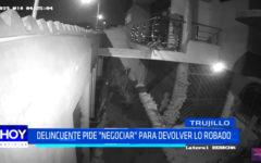 """Delincuente pide """"negociar"""" para devolver lo robado"""