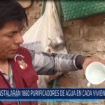Chiclayo: Se instalarán 1860purificadores de aguan en cada vivienda de Mórrope