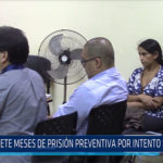 Chiclayo: Siete meses de prisión preventiva por intento de parricidio
