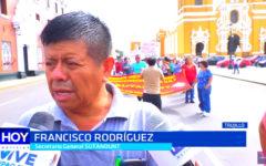 Sutadunt denuncia a rector Orlando Gonzáles Nieves