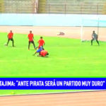 "Mario Tajima: ""ante Pirata será un partido muy duro"""