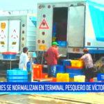 Trujillo: labores se normalizan en terminal pesquero de Víctor Larco
