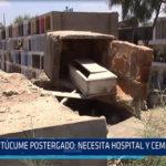 Chiclayo. Túcume postergado necesita hospital y cementerio