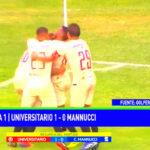Universitario ganó 1-0 a Carlos A. Mannucci por la fecha 4 de la Liga 1