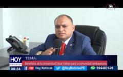 Chiclayo: En nuestro bloque #UCV TV. Tuvimos como primer invitado al director general de la universidad César Vallejo Dr. Ricardo Manuel Delgado Arana
