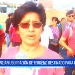 Trujillo: denuncian usurpación de terreno destinado para parque en Moche