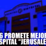 "UTES 6 se compromete a mejorar Hospital ""Jerusalén"""