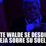 Vicente Walde: Dijo que S/. 27 mil no le alcanzan, ahora se desdice