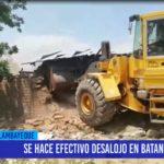 Chiclayo: Se hace efectivo desalojo en Batangrande