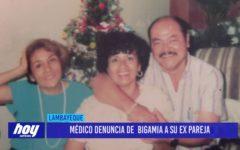 Chiclayo: Médico denuncia de bigamia a su ex pareja