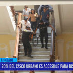 Chiclayo: 20% de casco urbano es accesible para discapacitados