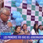 Chiclayo: Los primeros 100 días del gobernador regional