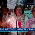 Chiclayo: Piden no se destituya a médicos de hospital Almanzor