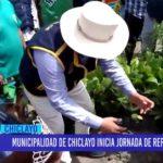 Chiclayo: Municipalidad de Chiclayo inicia jornada de reforestación
