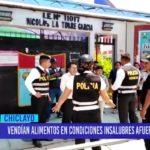 Chiclayo: Vendían alimentos en condiciones insalubres afuera de colegios