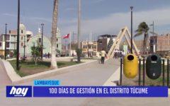 Chiclayo: 100 días de gestión en el distrito de Túcume