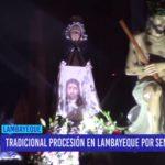 Chiclayo: Tradicional procesión en Lambayeque por semana santa