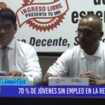 Chiclayo: 70% de jóvenes sin empleo en la región