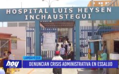 Chiclayo: Denuncian crisis administrativa en ESSALUD