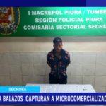 Piura: A balazos capturan a microcomercializador de droga