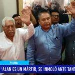 """Piura: """"Alan es un mártir, se inmoló ante tanta injusticia"""""""