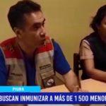 Piura: Buscan inmunizar a más de 1500 menores de 5 años