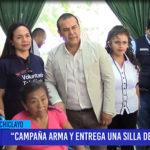 Chiclayo: Campaña arma y entrega una silla de ruedas