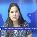 Chiclayo: Campaña de voluntariado de Telefónica, entrega de sillas de ruedas.