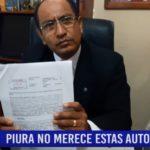 """Piura: El distrito de """"Veintiséis de Octubre"""" no merece estas autoridades"""