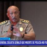 Chiclayo: General Zulueta señalo que muerte de policía no fue emboscada