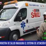 Piura: Ministra de Salud inaugura sistema de atención móvil de urgencia.