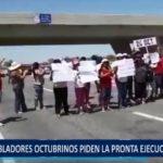 Piura: Pobladores Octubrinos exigen la pronta ejecución de obras