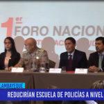 Chiclayo: Reducirán escuela de policías a nivel nacional