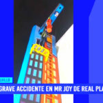 Trujillo: Grave accidente en Mr. Joy del Real Plaza