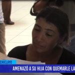 Chiclayo: Amenazó a su hija con quemarle la boca