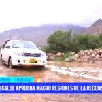 Alcalde de Laredo aprueba macroregiones de la reconstrucción