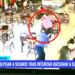 Brasil: golpean a sicario tras intentar asesinar a su víctima