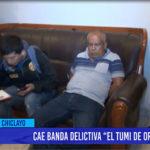 """Chiclayo: Cae banda """"El tumi de oro"""""""