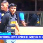 Trujillo: capturan a joven sicario al interior de hostal