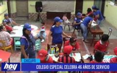 Chiclayo: Colegio especial celebra 46 años de servicio