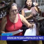 Chiclayo: Denuncian presunta apropiación de parte de un local