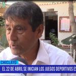 Chiclayo: El 22 de abril se inician los juegos deportivos escolares 2019