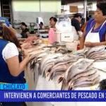 Chiclayo: Intervienen a comerciantes de pescado en Semana Santa