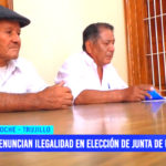 Denuncian ilegalidad en elección de junta de usuarios de agua de Moche