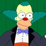 "Krusty de Los Simpsons protagoniza ""JOKER"""