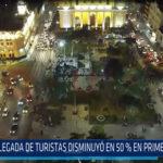Chiclayo: Llegada de turistas disminuyo en 50% en primer trimestre