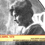 Bicentenario Truxillo: Nace María Negrón Ugarte