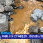 Chiclayo: Minería sería responsable de la contaminación del agua